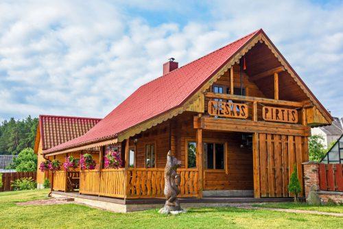 Sodyba Meškos Pirtis 17 km nuo Vilniaus centro