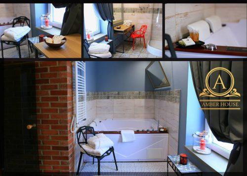 "Poilsio namelis ""Amber House"" su sūkurine vonia"