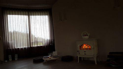 Šiaudinis/molinis namelis poilsiui