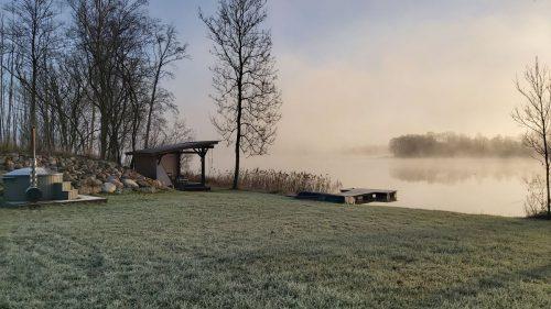 """Šeimyninis namelis """"Jurkampis"""" prie Dūrių ežero"""