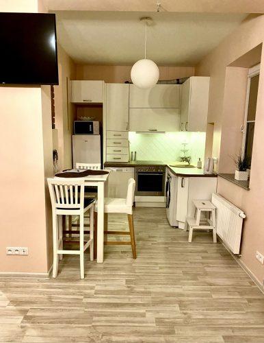2 kambariu butas jurginu gatveja, 5 miegamos vietos